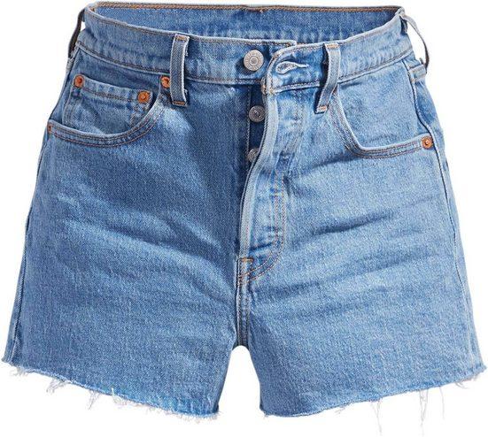 Levi's® Jeansshorts »Ribcage W«