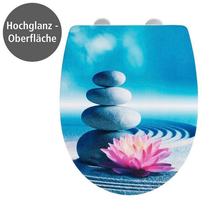 WCs und Zubehör - WENKO WC Sitz »Spirit High Gloss« (1 St), Thermoplast  - Onlineshop OTTO