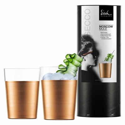 Eisch Becher »Moscow Mule 2er Set Secco Flavoured«, Kristallglas