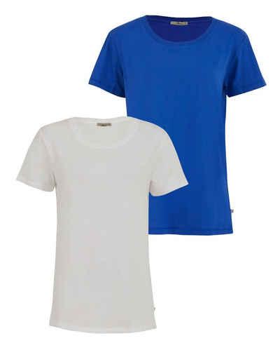 LTB Kurzarmshirt »DPLICOYE« (2-tlg) mit Rundhals-Ausschnitt als Doppelpack