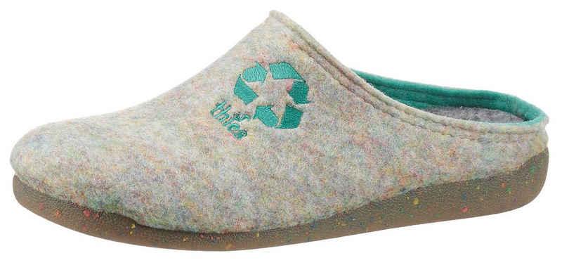 thies Pantoffel aus recycelten PET-Flaschen