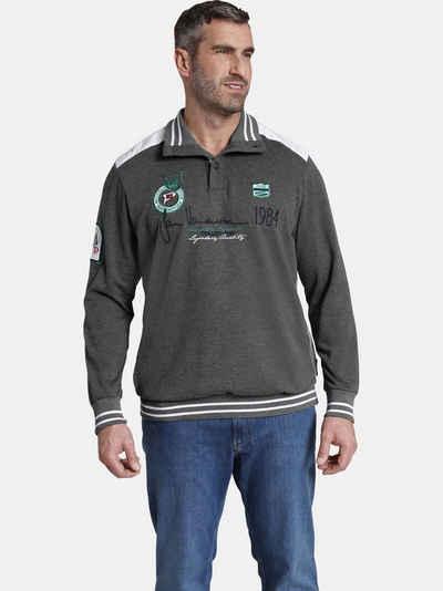 Jan Vanderstorm Sweatshirt »MILE« mit hohem Tragekomfort