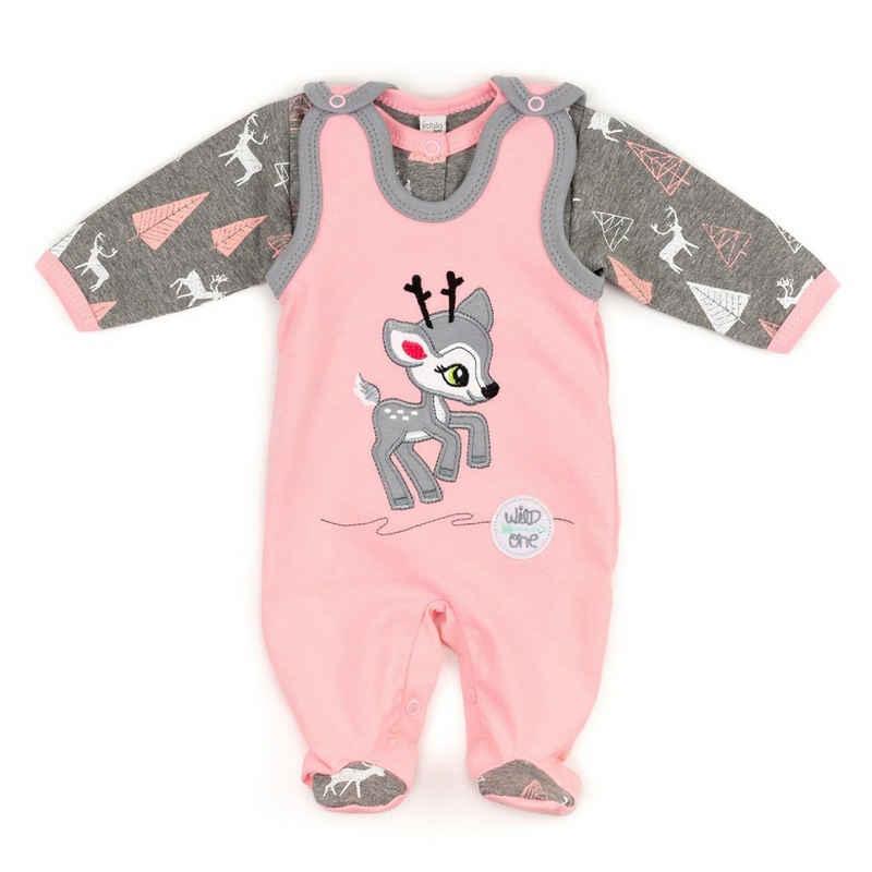 Koala Baby Shirt, Strampler, Jäckchen, Mütze & Schühchen »2tlg Set Strampler + Shirt Rentier - by Koala Baby« (2-tlg)