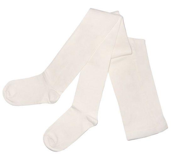 WERI SPEZIALS Strumpfhersteller GmbH Strickstrumpfhose »Damenstrumpfhosen >>Einfarbig Klassisch<< mit Baumwolle«