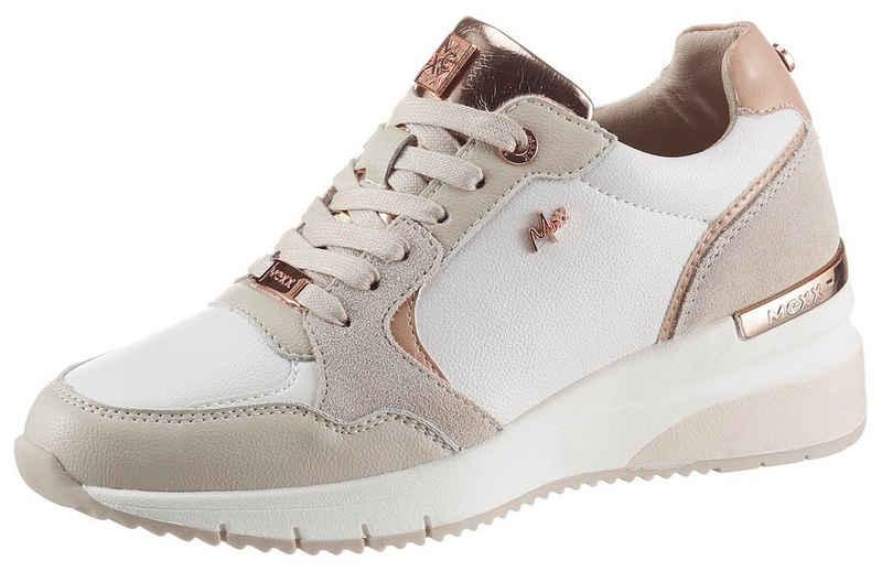 Mexx »GENA« Wedgesneaker mit roségoldfarbenen Details