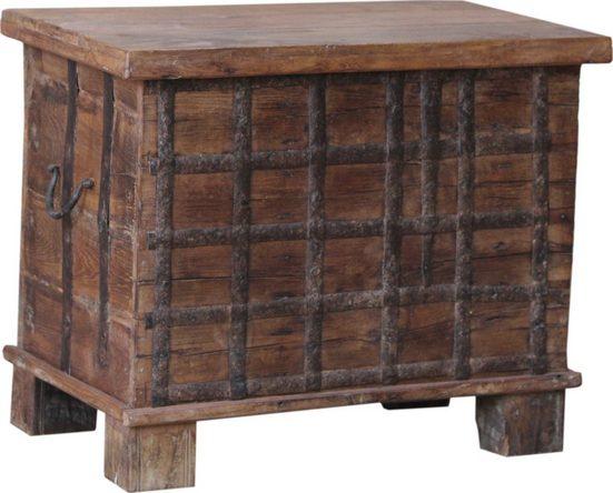 Guru-Shop Couchtisch »Holzbox,Holztruhe aus Vollholz, Couchtisch,..«