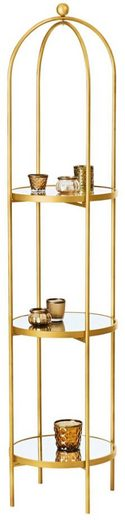 Schneider Etagere, Glas, Metall, (1-tlg)