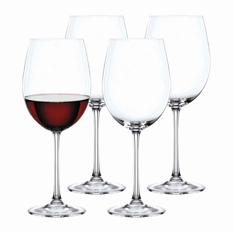 Nachtmann Rotweinglas »Vivendi Bordeauxglas 4er Set«, Kristallglas
