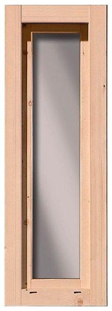 Karibu Fenster f. Stranda + Fredenborg 60 x 169 cm Natur