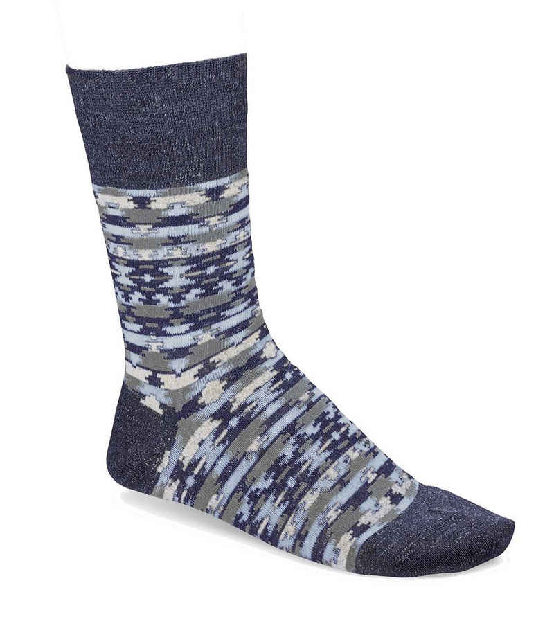 Birkenstock Kurzsocken »Herren Socken - Strumpf, Ethno Linen, Jacquard,«