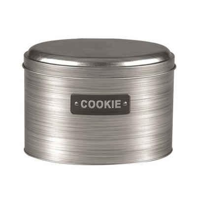Michelino Keksdose »Keksdose Vorratsdose Silber«, Metall, (1-tlg)