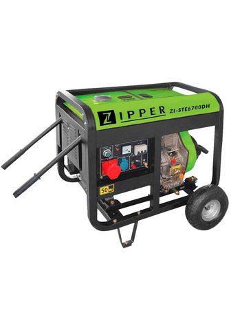 ZIPPER Stromerzeuger »ZI-STE6700DH« 590 in kW...