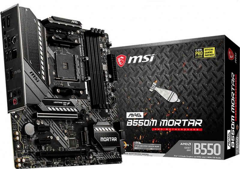 MSI »MAG B550M MORTAR« Mainboard RGB-LED-Lichtleiste