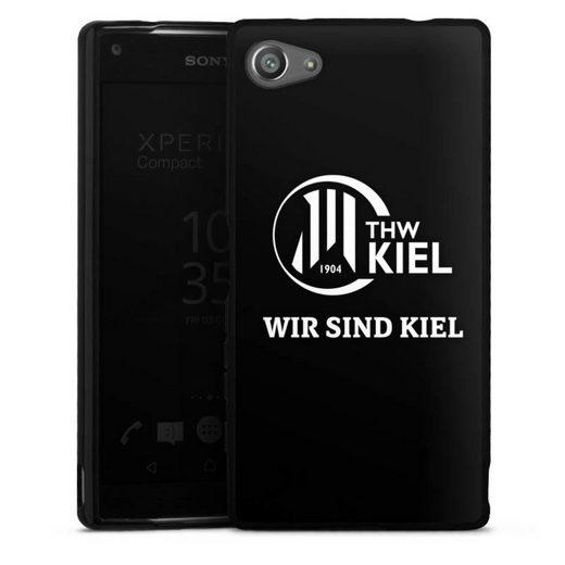 DeinDesign Handyhülle »Wir sind THW Kiel« Sony Xperia Z5 Compact, Hülle Handball THW Kiel Fanartikel