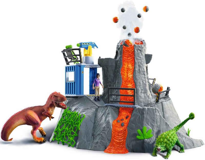 Schleich® Spielwelt »Dinosaurs, Große Vulkan-Expedition (42564)«