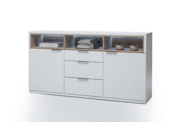 Möbel-Lux Konsole »Iris«, Konsole, Sideboard mit türen und Fächern