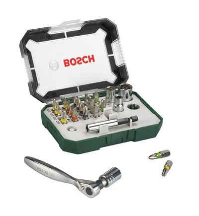 BOSCH Bit-Set, 26-St., Schrauberbit- und Ratschen-Set