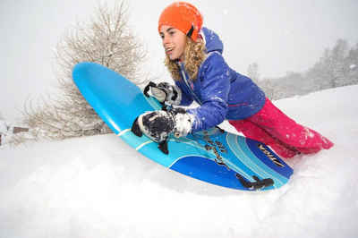 STIGA Sports Schneerutscher »Snow Rocket 110 cm schwarz«