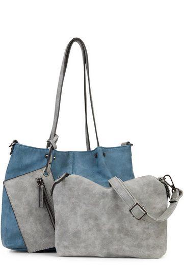 EMILY & NOAH Shopper »Bag in Bag Surprise«, Nieten