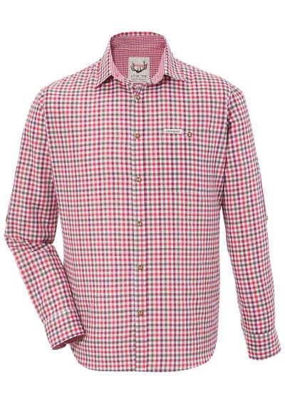 Stockerpoint Trachtenhemd mit Krempelärmel