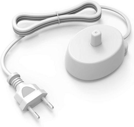 neue dawn Elektrische Zahnbürste Ladestation für Braun Oral-B 3709 3728 3737 3756 3757 3761 3764 4736 4717 4729 4733 6500 Ladegerät