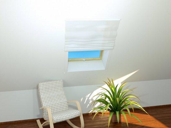 hecht international Insektenschutz-Dachfenster-Rollo »BASIC«, weiß/weiß, BxH: 110x160 cm