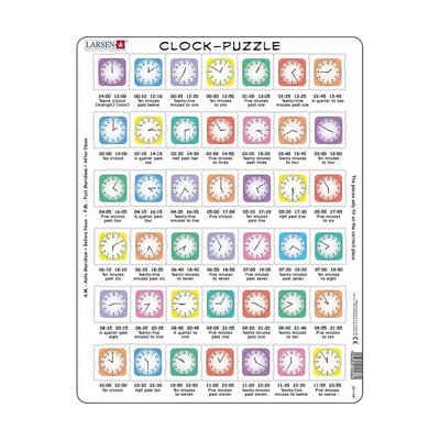 Larsen Puzzle »Rahmen-Puzzle, 42 Teile, 36x28 cm, Englisch«, Puzzleteile
