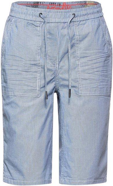 Hosen - Cecil Shorts »Style Chelsea« mit filigranem Streifenmuster ›  - Onlineshop OTTO