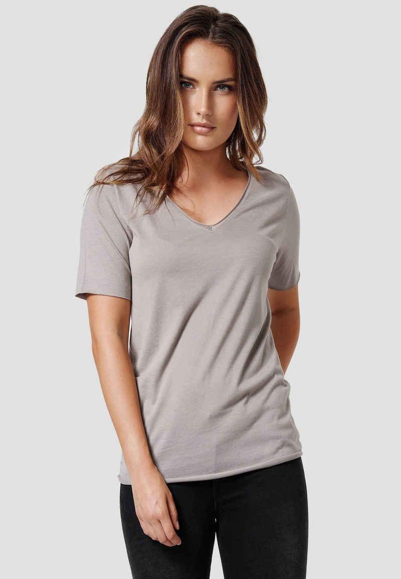 Cotton Candy T-Shirt »NIVIA« mit V-Ausschnitt