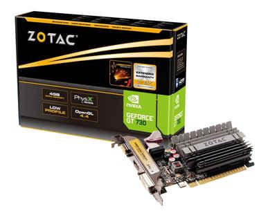 Zotac VGA Zotac GeForce® GT730 4GB Grafikkarte (4 GB)