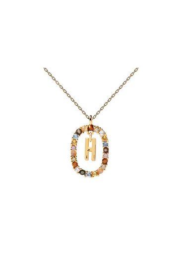 PDPAOLA Halsband »Buchstabenkette H«