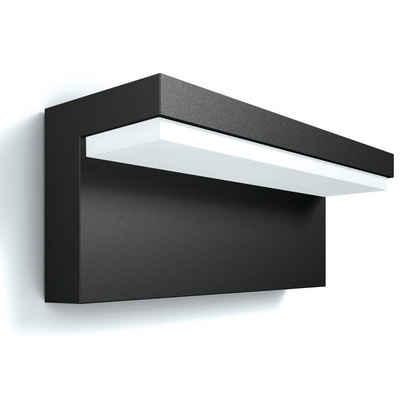 Philips LED Außen-Wandleuchte »myGarden LED Außenwandleuchte Bustan in anthrazit,«, Aussenlampe, Aussenwandleuchte, Outdoor-Leuchte