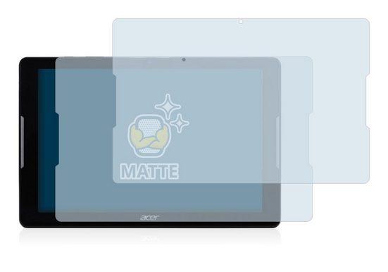 BROTECT Schutzfolie »für Acer Iconia One 10 B3-A30«, (2 Stück), Folie Schutzfolie matt entspiegelt