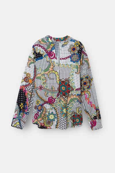 Desigual Klassische Bluse »Desigual Bluse Lisy - 19WWBWXI -1000«
