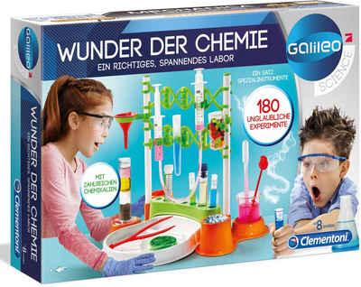 Clementoni® Experimentierkasten »Galileo Wunder der Chemie«, Made in Europe