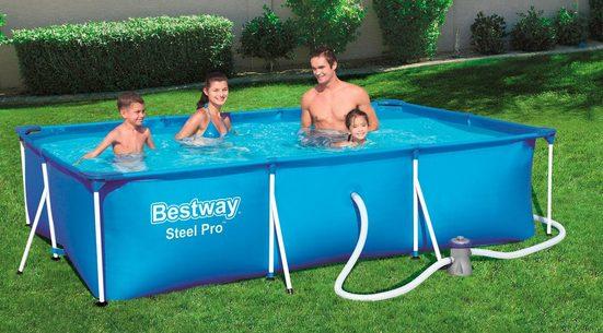 Bestway Framepool »Steel Pro™« (Set), 3-tlg., BxLxH: 201x300x66 cm
