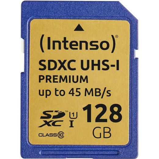 Intenso »128 GB SDXC, UHS-I, Class 10« Speicherkarte