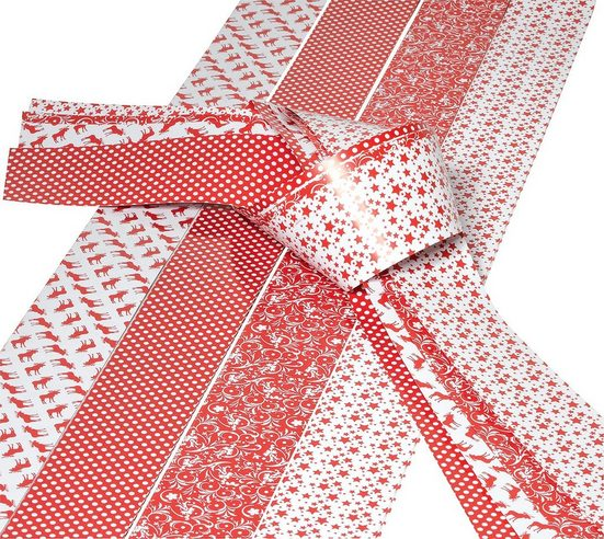 VBS Papiersterne »Papierstreifen Scandinavian X-Mas 50 mm«, 20 Streifen