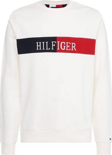 TOMMY HILFIGER Sweatshirt »HILFIGER INTARSIA SWEATSHIRT«