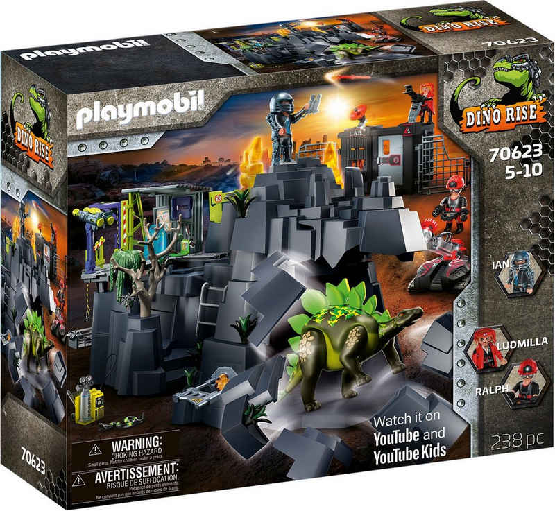 Playmobil® Konstruktions-Spielset »Dino Rock (70623), Dino Rise«, (238 St), Made in Germany
