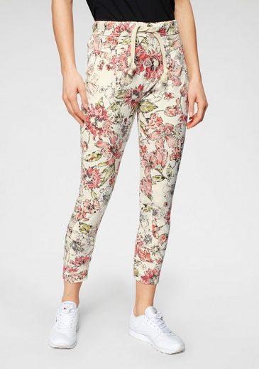 Please Jeans Jogger Pants »P51G« im floralem Allover-Druck