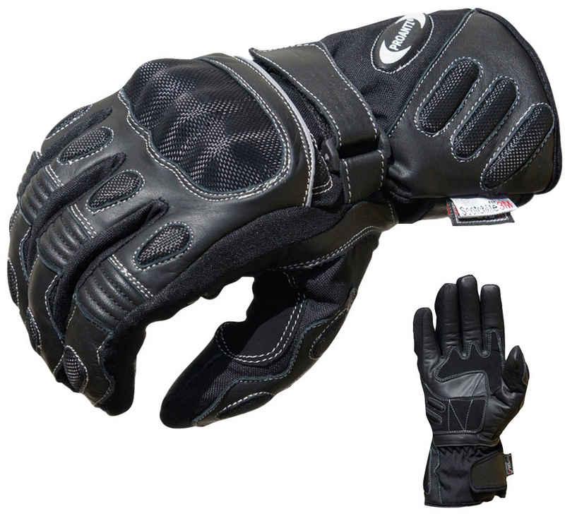 PROANTI Motorradhandschuhe speziell für Regenwetter und den Winter geeignet, wasserdicht