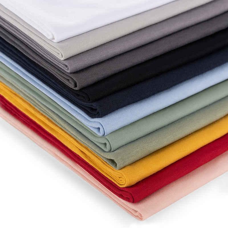 Kissenbezug »2er Set Kissenbezug 100% Baumwolle, Superweicher Premium Jersey Kopfkissenbezug, Kissenhülle«, Blumtal (2 Stück), Reißverschluss