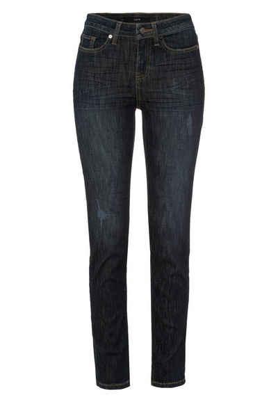 Zero 5-Pocket-Jeans »Seattle Skinny Fit 30 Inch« Plain/ohne Details
