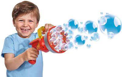 SIMBA Seifenblasenpistole »Sam Seifenblasen Kanone«, Länge: 21 cm, mit 120 ml Lauge