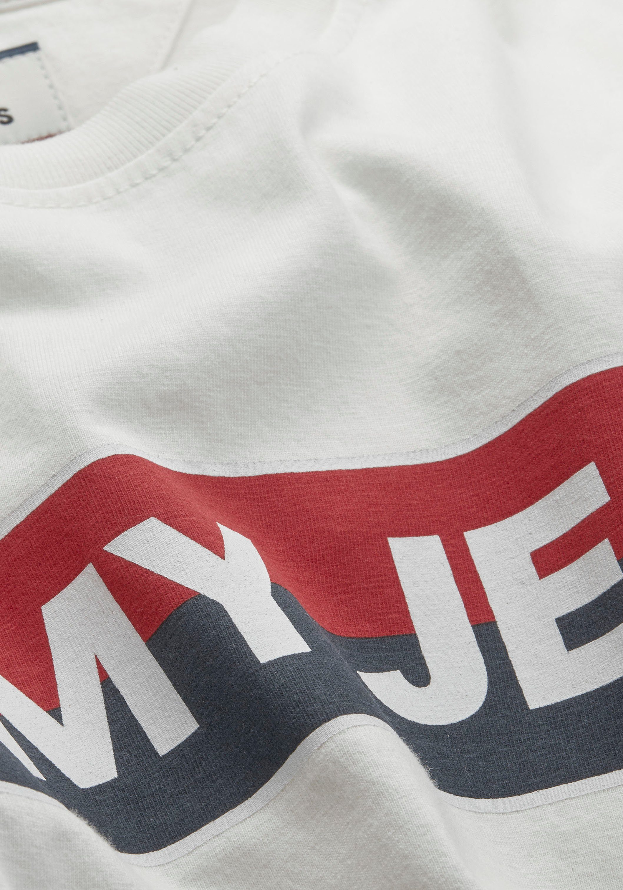 TOMMY JEANS T-Shirt TJM DOUBLE STRIPE LOGO TEE