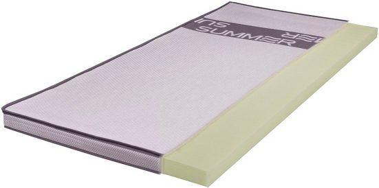 Topper »SMARTSLEEP® 700«, Breckle, 6 cm hoch, Raumgewicht: 50, Viscoschaum, sensitiv und sehr anschmiegsam - Ideal für Schwitzer
