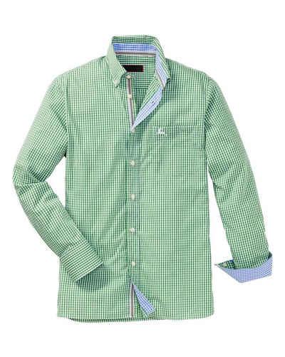 Reitmayer Trachtenhemd »Karohemd mit Stickerei«
