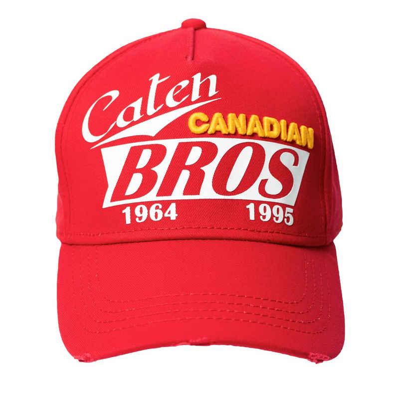 Dsquared2 Baseball Cap »Caten Bros« Rot