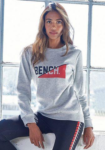 Bench. Sportinio stiliaus megztinis su fronta...